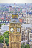 View of London and the Big Ben Royalty Free Stock Image