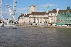 City of london United Kingdom. City landscape of historical districts. royalty free stock photography