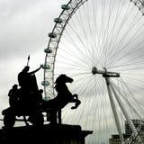 View on London Eye Royalty Free Stock Image
