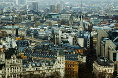 View from London eye Royalty Free Stock Photo