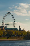 View of the london eye Stock Photo