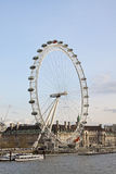 View of the London Eye Stock Photography