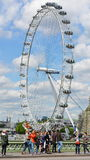 View of the London Eye Stock Photos