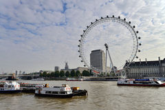 View of The London Eye Royalty Free Stock Photo