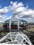 View from the London eye royalty free stock photography
