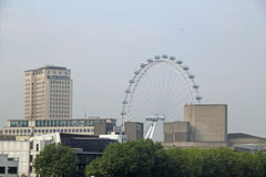 View Of The London Eye Royalty Free Stock Photos