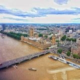 View from London eye Stock Images