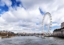 View of the London Eye Royalty Free Stock Image