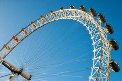 View of the London Eye Royalty Free Stock Images