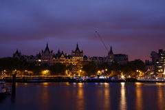 View of London at night Stock Photos