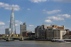 View of London Skyline with iconic building Stock Image