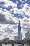 View of london skyline with the shard Stock Photos
