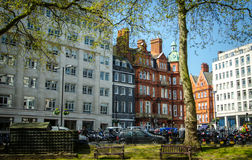 View of  London street Royalty Free Stock Photo