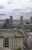View on London from the top. Royalty Free Stock Image
