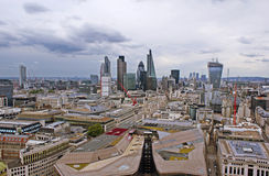 View on London from the top. Stock Images