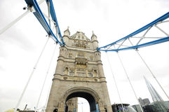 View of The London Tower Bridge Stock Images