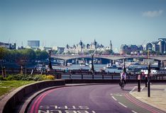 View of London Stock Photography