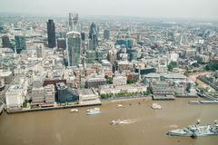 View of London,UK. Royalty Free Stock Photo