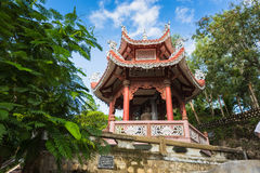 View of the Long Son Pagoda royalty free stock image