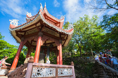 View of the Long Son Pagoda stock images