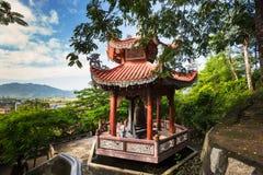 View of the Long Son Pagoda stock photos