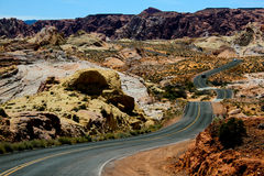 Long and winding road. Royalty Free Stock Photo