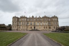 View of Longleat House stock images