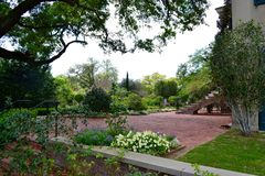 Longue Vue House and Gardens in New Orleans. A view of the Longue Vue House and Gardens in New Orleans, Louisiana, USA stock photo