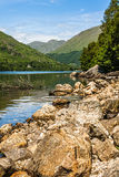 Landscape, Loch Sheil, Lochaber, Scotland Royalty Free Stock Photo