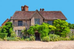 Packwood House rear view, Warwickshire, England. royalty free stock image