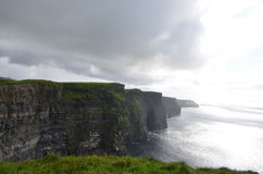 View Looking South over The Cliffs of Moher in County Clare, Ireland. The View Looking South over The Cliffs of Moher in County Clare, Ireland Stock Photography