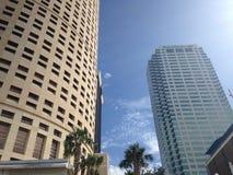 Downtown Tampa Buildings Stock Photos