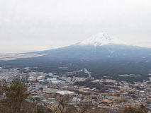 View from the lookout on Mount Fuji, Japan Stock Photo