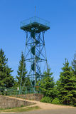 View of the lookout tower Royalty Free Stock Photography