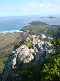 View from a lookout at Wilson's Promontory Stock Photography