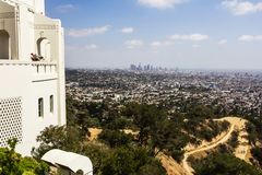 View of Los Angeles Royalty Free Stock Photography