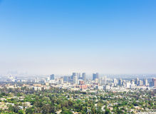 View of Los Angeles city Stock Photos