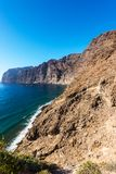 View of Los Gigantes cliffs Spain Royalty Free Stock Photos