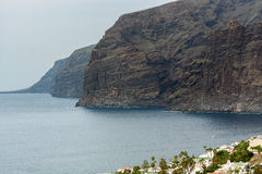 View of Los Gigantes rocks on Tenerife Canary Islands Spain Stock Images