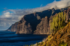 View on Los Gigantes during Sunset-Tenerife,Spain Stock Photo