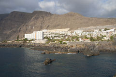 View on Los Gigantes, Tenerife Stock Photo
