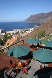 The view -Los Gigantes Tenerife Stock Photos