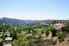 View of Losa Angeles Royalty Free Stock Photos