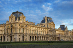 View on Louvre. Museum in Paris, France Stock Images