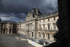 View of the Louvre Museum, Paris - France Royalty Free Stock Photo