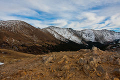 View from Loveland Pass, Colorado Stock Images