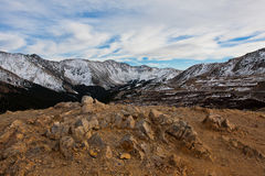 View from Loveland Pass, Colorado Royalty Free Stock Photo