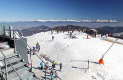 View from Low Tatras mountains, Slovakia Stock Image