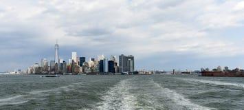 View of Lower Manhattan Stock Photo