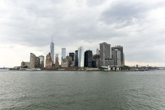 View of Lower Manhattan Royalty Free Stock Image